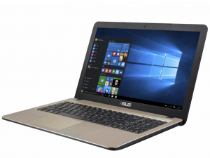 ASUS 15,6 HD X540SA-XX018T - Fekete - Windows® 10 Home Intel® Pentium® Quad Core™ N3700 /1,60GHz - 2,40GHz/, 4GB 1600MHz, 500GB HDD, DVDSMDL,Intel® HD graphics, Wifi, Bluetooth, Webkamera, Windows® 10 Home, Fényes kijelző