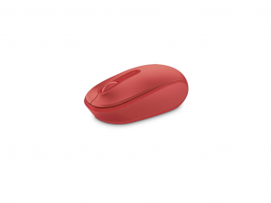 Microsoft Mobile Mouse 1850 wireless - Piros