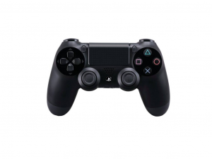 Sony Playstation 4 (PS4) Dualshock 4 V2 kontroller fekete