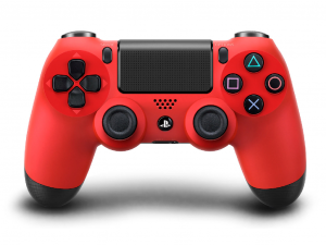Sony Playstation 4 (PS4) Dualshock 4 V2 kontroller piros