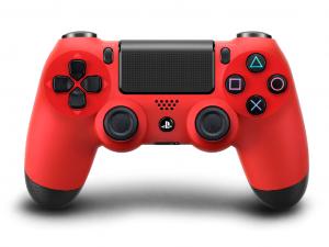 Sony Playstation 4 (PS4) Dualshock 4 V2 kontroller piros