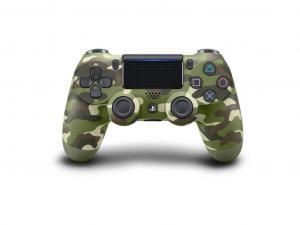 Sony Playstation 4 (PS4) Dualshock 4 V2 kontroller zöld terepszínű