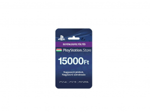 Sony Playstation Network Card 15000 HUF