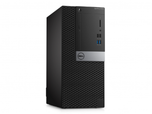 Dell Optiplex 7050MT - i5-7500 - 8GB Ram - 500 + 500 GB HDD - Windows 10 Pro - Asztali PC