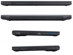 Fujitsu Lifebook A555 notebook 15.6/Core™ i3-5005U/4GB/256GB gyári SSD/DOS