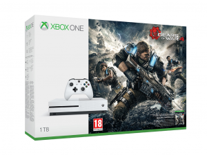 Mircosoft Xbox One S (Slim) 1TB Special Edition + Gears of War 4