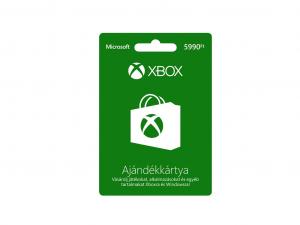 MS Xbox Live 5990 Ft Feltöltőkártya