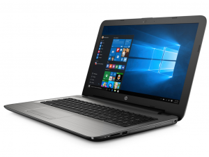 HP 15-AY029NH, 15.6 FHD AG Intel® C N3060, 4GB, 1TB, Intel® HD 400, WIN10, turbo ezüst (216459)
