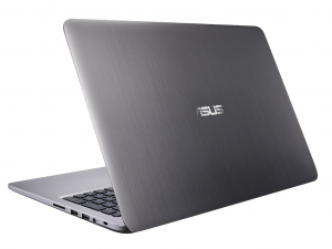 ASUS 15,6 FHD K501UX-DM144T - Metálszürke - Windows® 10 Home Intel® Core™ i7-6500U /2,50GHz - 3,10GHz/, 8GB 1600MHz, 1TB HDD + 128GB SSD, Nvidia® GTX 950M 4GB, Wifi, Bluetooth, Webkamera, Windows® 10 Home, Háttérvilágítású billentyűzet, HDMI to VGA Cab