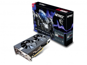 Sapphire PCIe AMD RX 580 4GB GDDR5 NITRO+ OC - Videókártya