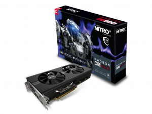 Sapphire PCIe AMD RX 580 8GB GDDR5 NITRO+ OC - Videókártya