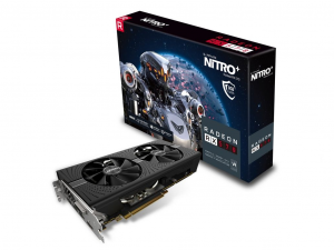 Sapphire PCIe AMD RX 570 8GB GDDR5 NITRO+ OC - Videókártya