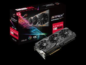 ASUS ROG STRIX RX 580 OC 8GB - ROG-STRIX-RX580-O8G-GAMING - Videókártya