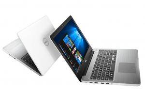 DELL Inspiron 5567 15.6 HD TrueLife, Intel® Core™ i5 Processzor 7200U (2.5-3.1GHz), 4GB DDR4, 500GB HDD, AMD R7 M445 / 2GB GDDR5, DVD, 10/100 LAN, HDMI v1.4a, 2db USB 3.0, 1db USB 2.0, 802.11ac WiFi, BT4.2, 3cell, backlit keyboard, Fehér, Win10H
