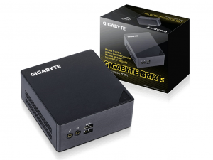 Gigabyte BRIX Intel® Core™ i5 - GB-BSI5HT-6200 - Asztali PC