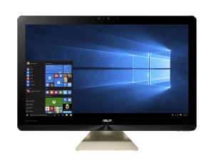 Asus 24 UHD Multi-Touch Z240IEGT-GA047T - Arany - Windows® 10 64bit - All in one PC