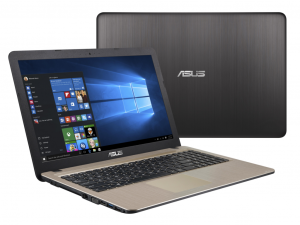 ASUS 15,6 HD X541SA-XO137T - Fekete - Windows® 10 Home Intel® Pentium® Quad Core™ N3710 /1,60GHz - 2,56GHz/, 4GB 1600MHz, 500GB HDD, DVDSMDL, Intel® HD graphics 405, Wifi, Bluetooth, Webkamera, Windows® 10 Home, Matt kijelző
