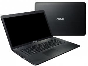 ASUS 17,3 HD+ X751SA-TY150T - Fekete - Windows® 10 Home Intel® Celeron® Dual Core™ N3060 /1,60GHz - 2,48GHz/, 4GB 1600MHz, 1TB HDD, DVDSMDL, Intel® HD graphics 400, Wifi, Bluetooth, Webkamera, Windows® 10 Home, Fényes kijelző