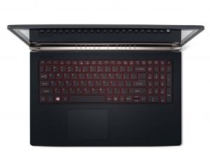 Acer Aspire Nitro 15,6 FHD IPS VN7-593G-73FR - Fekete Intel® Core™ i7-7700HQ/2,80GHz - 3,80GHz/, 8GB 2133MHz, 1TB HDD, NVIDIA® GeForce® GTX1050Ti / 4GB, WiFi, Bluetooth, HD Webkamera, Boot-up Linux, Matt kijelző