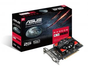 Asus PCIe AMD RX 550 2GB GDDR5 - Radeon RX 550-2G - Videókártya