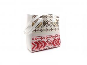 Sbox Prága - NBA-0098 - 14-col - Fehér - mintás - Notebook táska