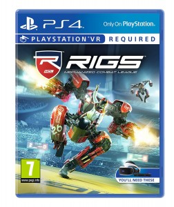 RIGS Mechanized Combat League VR (PS4) Játékprogram