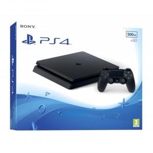 Sony Playstation 4 (PS4) Slim 1TB - Fekete