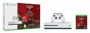 Microsoft Xbox One S (Slim) 1TB Játékkonzol + Halo Wars 2 Ultimate Edition Játékprogram
