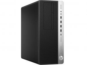 HP EliteDesk 800 G3 TWR - i5-7500 - 8GB RAM - 256GB SSD - Windows 10 PRO - Asztali PC
