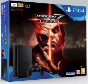Sony Playstation 4 (PS4) Slim 1TB Tekken 7 Deluxe Gépcsomag