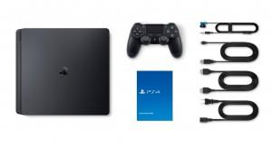 Sony Playstation 4 (PS4) Slim 500GB Jet Black- Fekete Játékkonzol