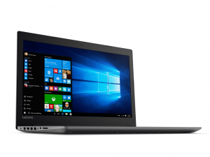 LENOVO IdeaPad 320-15IAP 80XR00AUHV 15,6/Intel® Celeron N3350/4GB/128GB/Win10/fekete laptop ONYX BLACK