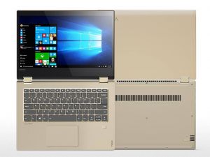 LENOVO Yoga 520-14IKB 80X800B4HV 14 FHD IPS/Intel® Core™ i5 Processzor-7200U/4GB/500GB/Int. VGA/Win10/arany laptop