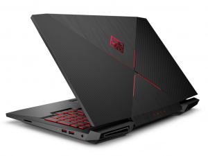 HP Omen 15-ce010nh, 15.6 FHD AG 60HZ Intel® Core™ i7 Processzor 7700HQ QC, 16GB, 1TB + 256GB SSD, Nvidia GF 1050 TI 4GB, Shadow Black, WIN10, 3Y