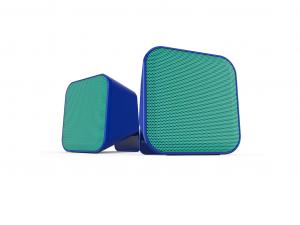Speedlink SNAPPY Stereo hangszóró, kék-türkiz