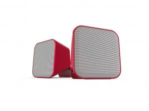 Speedlink SNAPPY Stereo hangszóró, Piros-Fehér