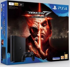Sony Playstation 4 (PS4) Slim 1TB Tekken 7 Deluxe Gépcsomag