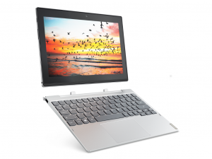 Lenovo IdeaPad Miix 320 10,1 HD IPS - 80XF0019HV - Ezüst - Windows® 10 Home - Touch Intel® Atom™ Quad Core™ x5-Z8350 /1,44GHz - 1,92GHz/, 4GB 1600MHz, eMMC 64GB, Intel® HD Graphics, WiFi, Bluetooth, Webkamera, Windows® 10 Home, Érintőkijelző