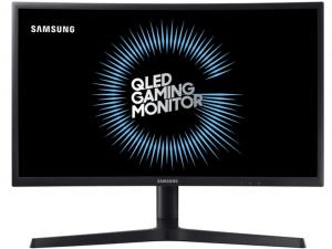 Samsung 23,5 C24FG73FQU QLED - 144Hz - ívelt kijelzős - FreeSync - Gamer monitor