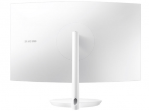 Samsung 31,5 C32H711QEU QLED WQHD HDMI Mini-Display port ívelt kijelzős fehér-ezüst monitor