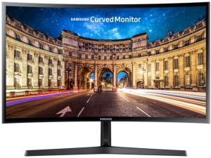 SAMSUNG C24F396FHU - Ívelt Full HD monitor