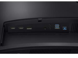 SAMSUNG LED ÍVELT MONITOR 31,5 LC32HG70QQUXEN, VA PANEL, 144HZ,2560X1440, 16:9, MEGA DCR/3000:1,350CD/M2, 1MS, DP, HDMI