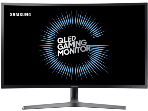 SAMSUNG LED ÍVELT MONITOR 31,5 LC32HG70QQUXEN, VA PANEL, 144HZ,2560X1440, 16:9, MEGA DCR/3000:1,350CD/M2, 1MS, DP, HDMI