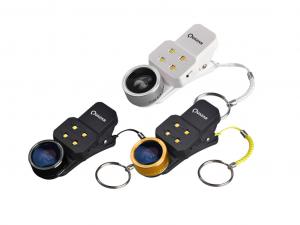 Quazar - Mobile lens 4X - Fekete - Lencse szett led lámpával