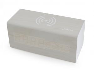 Quazar Charger Clock Station - QZR-WR03 - Fehér - Asztali óra és vezeték nélküli töltő