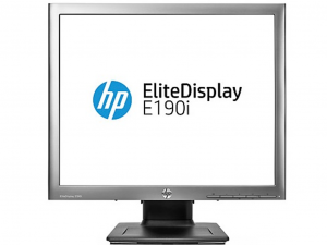 HP EliteDisplay E190i, 19 LED monitor 5:4 (1280x1024), IPS panel, DVI, DisplayP