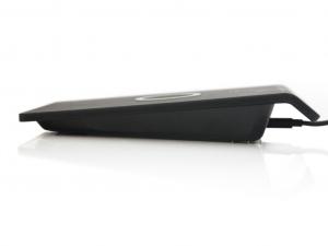 Quazar Wireless Charger Plate (vezeték nélküli töltőpad) - Fekete