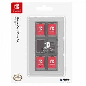 HORI - Nintendo Switch Game Card Case 24 (Clear)
