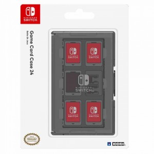 HORI - Nintendo Switch Game Card Case 24 Fekete