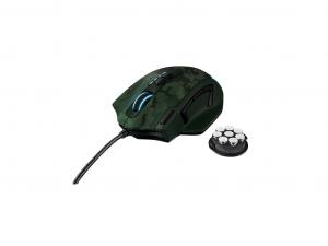 Trust GXT 155 - Zöld - Gamer egér